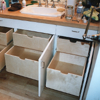 Under-Sink Pull-Out Shelves in San Francisco, CA