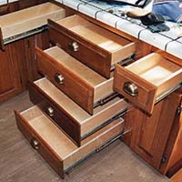 Wood Replacement Drawers