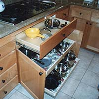 Kitchen Drawer and Pull Out Shelves