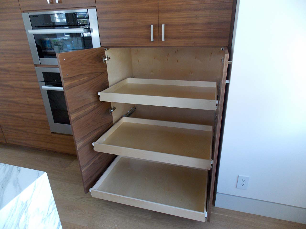 Tired Of Getting On Your Knees Looking For Things In Your Cabinets?  Consider Installing Roll Out Shelves. It Is An Easy Upgrade And Cost Much  Less Than You ...