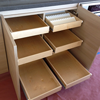 Rollout Kitchen Cabinet Drawers