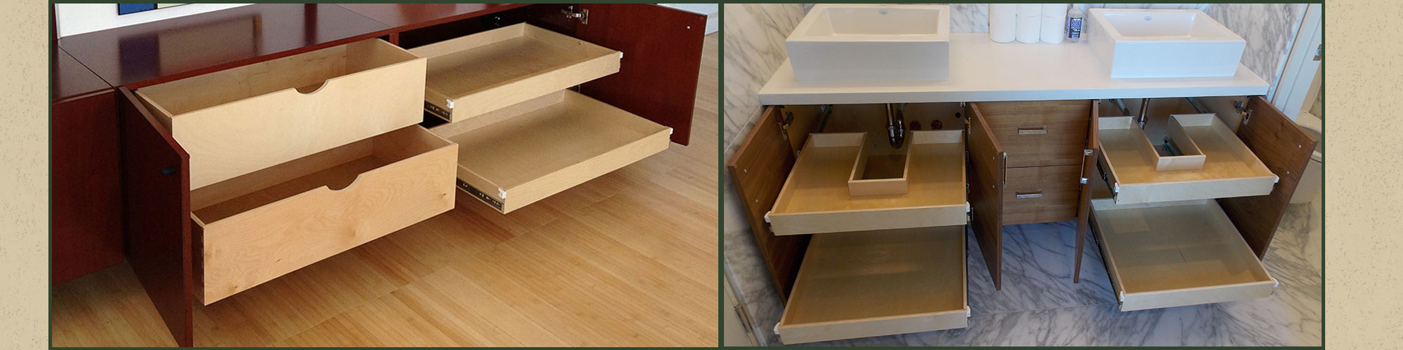 Storage Solutions in San Francisco, CA – Roll Out Shelves