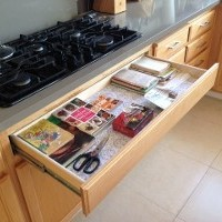 Drawer with Supplies